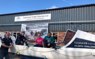 ETS supports Wrekin Rowers
